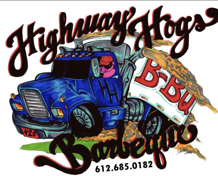 Highway Hogs Barbeque - Legacy Hero Hunt Sponsor